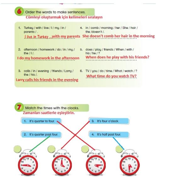 5. sınıf ingilizce başaran yayıncılık cevapları 4. ünite